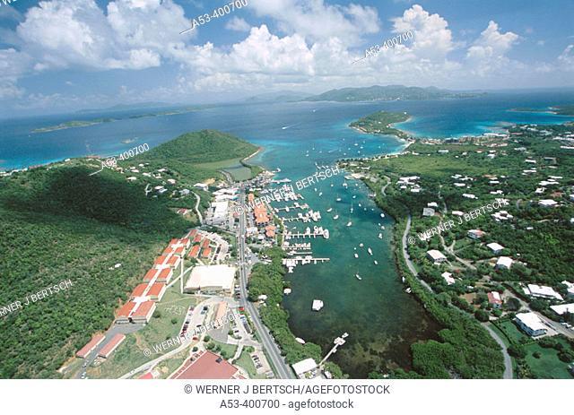 Red Hook, St. Thomas, US Virgin Islands. West Indies, Caribbean