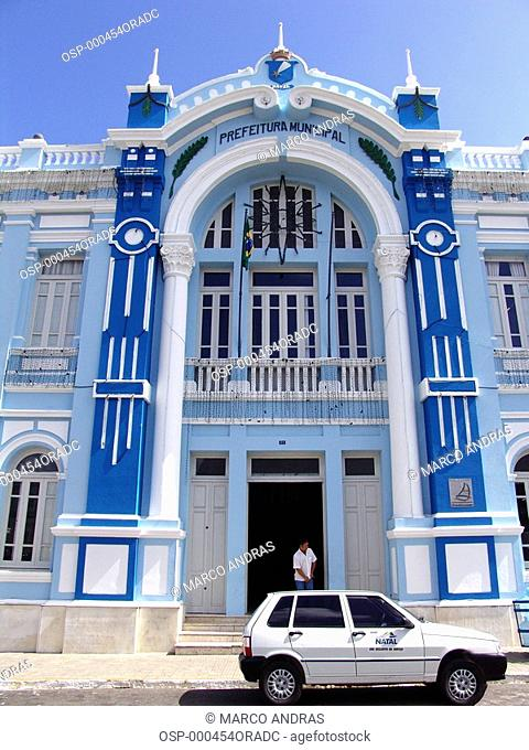 the city hall building from natal city
