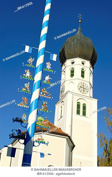 Gelting district of Geretsried Upper Bavaria Germany daughter church St Benedikt