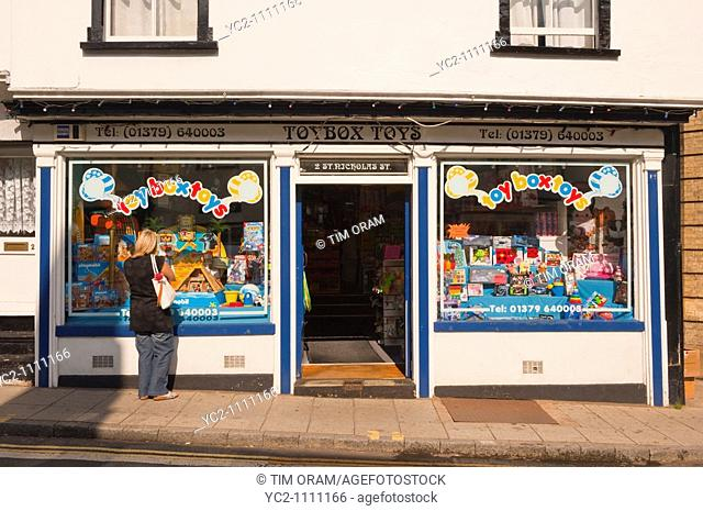 The Toybox toy shop store selling toys in Diss,Norfolk,Uk