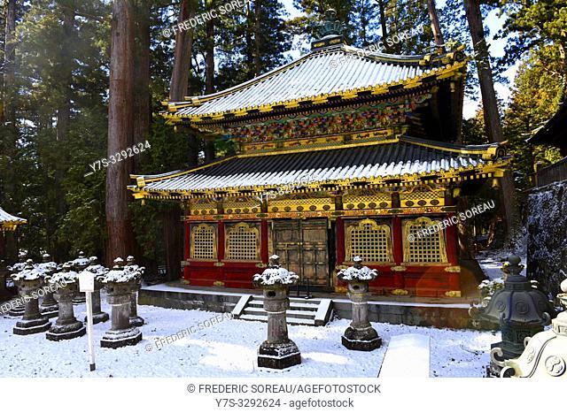 Toshogu Shrine in Nikko, Japan, Asia