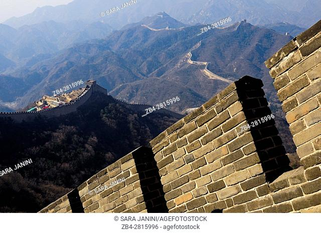 Badaling section of The Great Wall, China, Asia