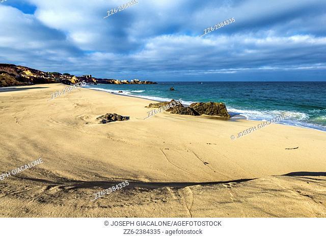 Garrapata State Beach. Monterey coast, California, United States