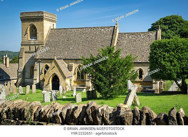 Saint Barnabas Parish Church, Snowshill, the Cotswolds, Gloucestershire, England