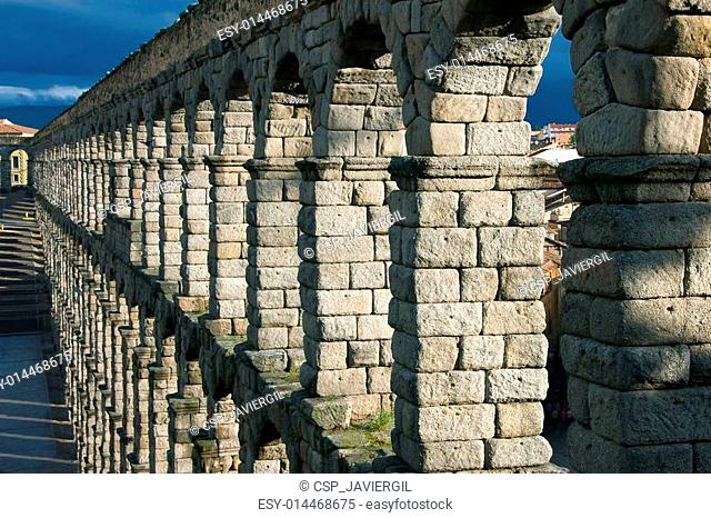 Segovia aqueduct, Segovia, Castilla y Leon, Spain