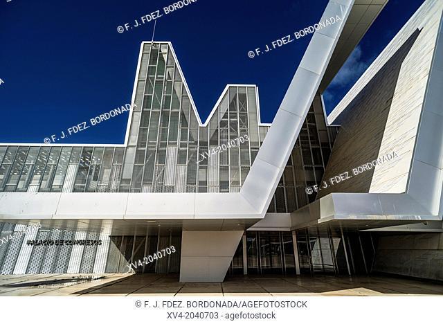 Congress Palace at Expozaragoza, Saragossa, Aragon, Spain