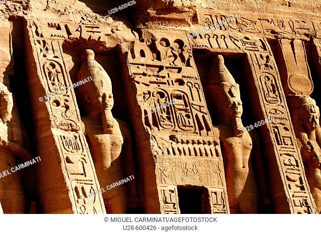 Abu Simbel. Egypt