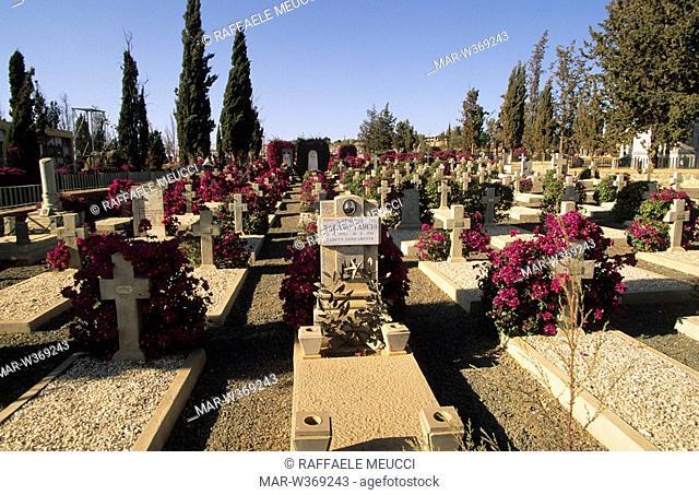 italian cemetery, asmara, eritrea, africa