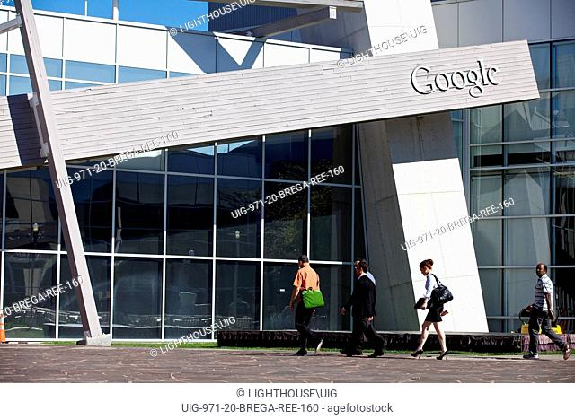Google Headquarters, in Mountain View, Silicon Valley