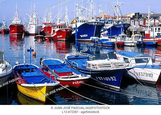 Port of Santoña. Cantabria, Spain