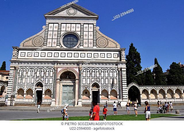 Firenze, Italy, the Basilica of Santa Maria Novella...
