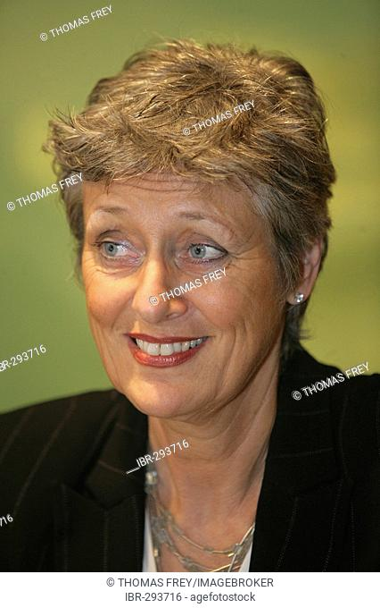 Marieluise Beck, former Under-Secretary of State, the Green Party, Germany