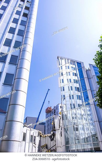 Towering innovation of the flemish federal government, Brussels, Belgium, Europe