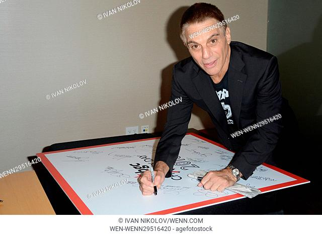 Annual Charity Day hosted by Cantor Fitzgerald at the BGC Office Featuring: Tony Danza Where: New York, New York, United States When: 12 Sep 2016 Credit: Ivan...