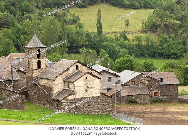 Arrós de Cardós, Natural Park of Alt Pirineu, Cardós Valley, Lleida, Spain