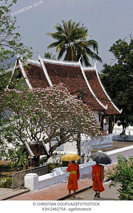 Wat Sibounheuang, Sakkarine Rd Luang Prabang, northern Laos, Southeast Asia