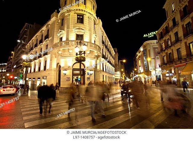 Street scene Granada, Spain