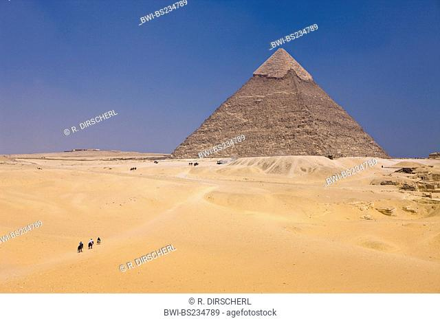 Pyramid of Khafra, Egypt, Kairo