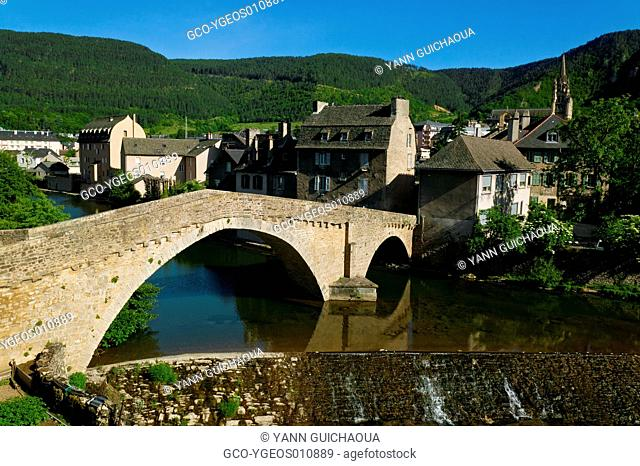 Bridge Of Notre-Dame,Mende, Lozere, Languedoc Roussillon, France