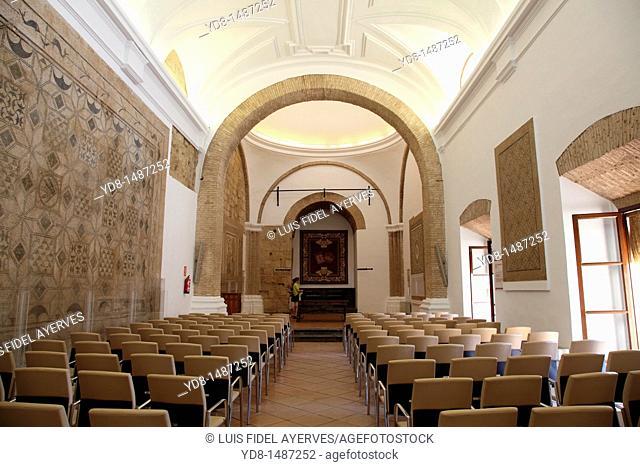 Inside the Alcazar, Cordoba, Andalusia, Spain