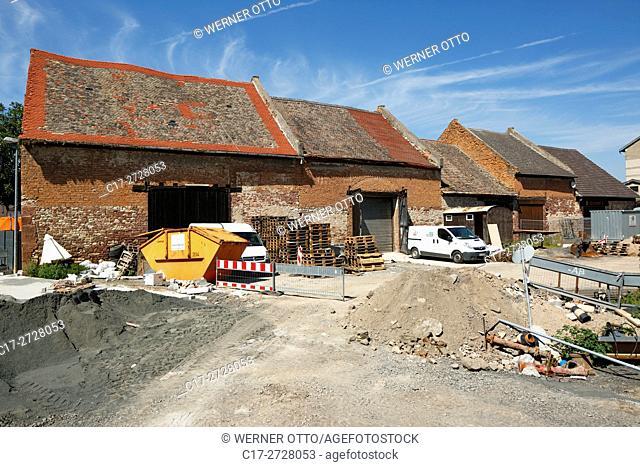 Germany, Worms, Rhine, Upper Rhine, Rhenish Hesse, Rhine-Neckar area, Rhine-Main district, Rhineland-Palatinate, Worms-Ibersheim, Ibersheim village