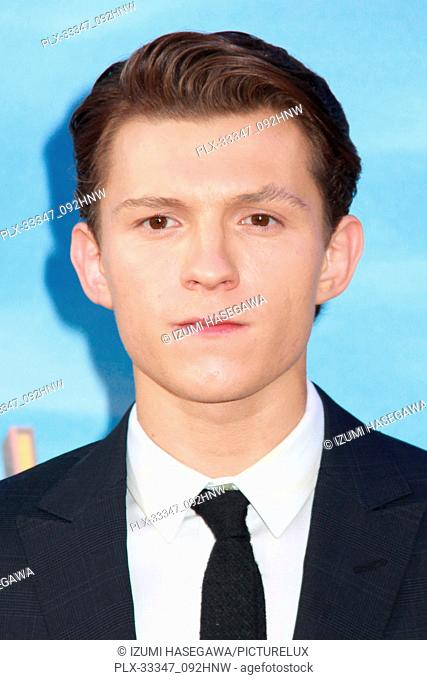 "Tom Holland 06/28/2017 The World Premiere of """"Spider-Man: Homecoming"""" held at the TCL Chinese Theatre in Los Angeles, CA Photo by Izumi Hasegawa / HNW /..."