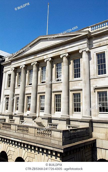 Georgian building in the City of London, UK