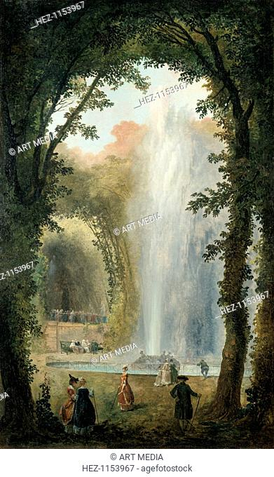 'The Water Feature of the Grove of the Museum of Marly', late 18th/early 19th century