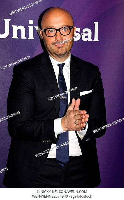 2015 NBCUniversal Press Tour - Day 1 - Arrivals Featuring: Joe Bastianich Where: Pasadena, California, United States When: 15 Jan 2015 Credit: Nicky Nelson/WENN