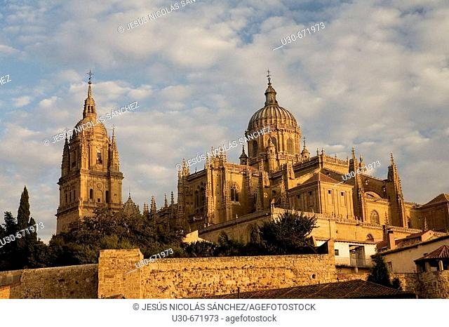 Catedral Nueva ('new cathedral'). Salamanca. Castilla-León, Spain