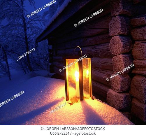 Stable lantern, Jamtland, Sweden