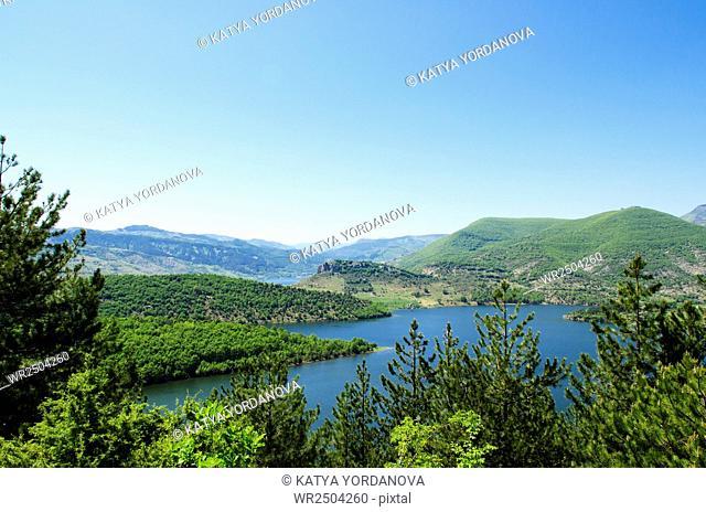 Arda river, Eastern Rhodopes, Bulgaria