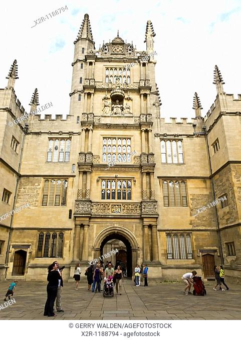 The Bodleian Library in Oxford, England