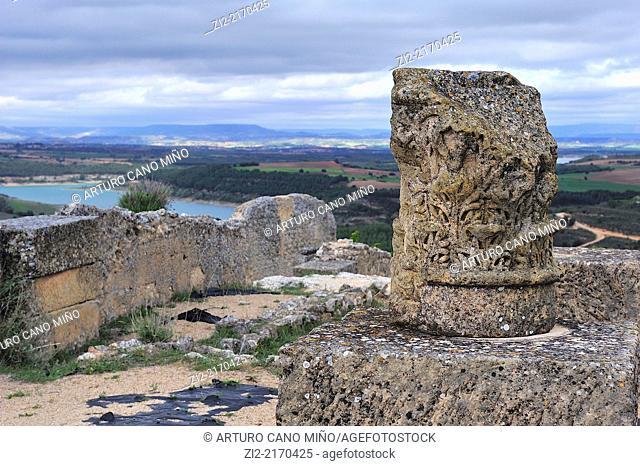 Roman ruins of Ercávica. Córcoles, Guadalajara, Spain