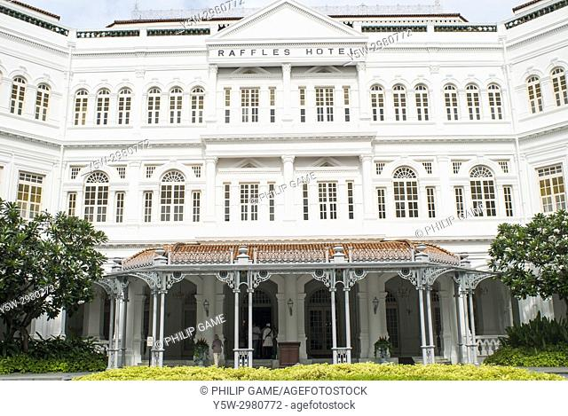 Raffles Hotel, Singapore, established 1887