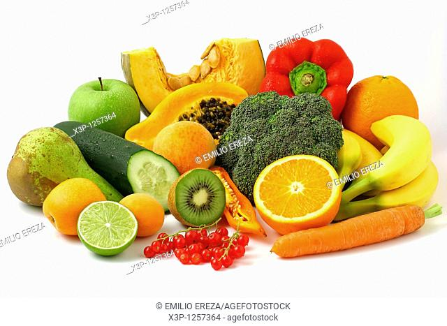 Fruits and vegetables still life
