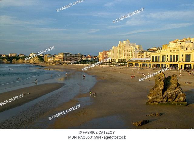 France - Aquitaine - Pyrenees Atlantiques - Biarritz