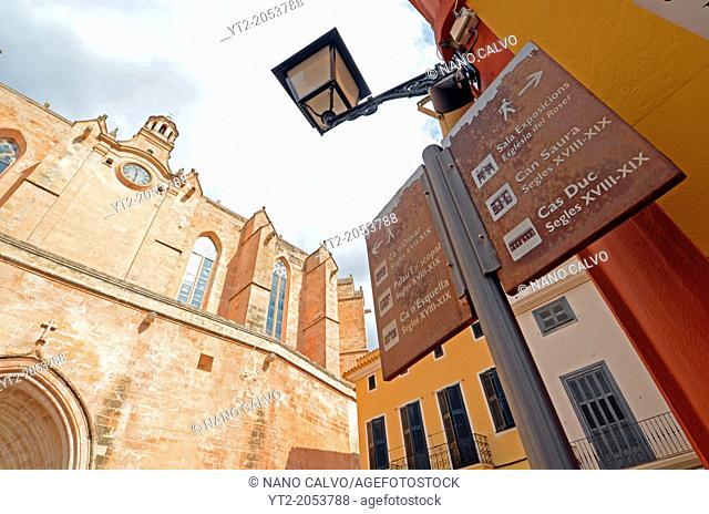 Old Quarter in Ciudatella, Menorca