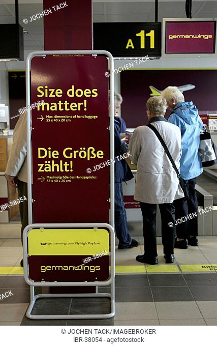 DEU, Germany, Berlin : Airport Berlin-Schoenefeld