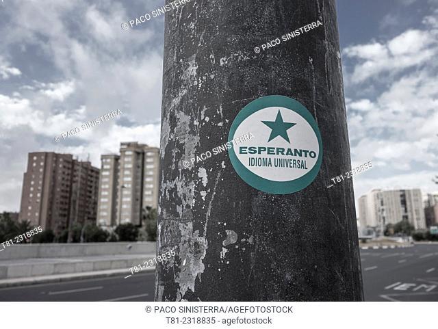 universal language Esperanto, Valencia, Spain