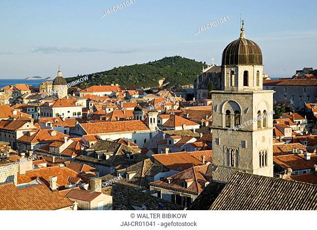 Croatia, Southern Dalmatia, Dubrovnik, Old Town