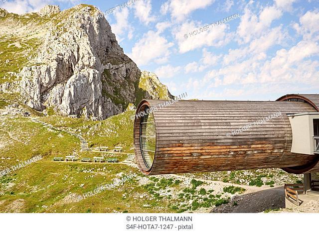 Alpen, Karwendelbahn, Bergstation
