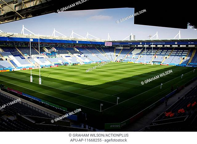 2015 Rugby World Cup Argentina v Tonga Oct 4th. 04.10.2015. King Power Stadium, Leicester, England. Rugby World Cup. Argentina versus Tonga