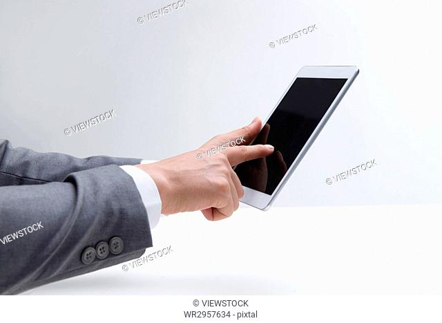 The use of tablet computer