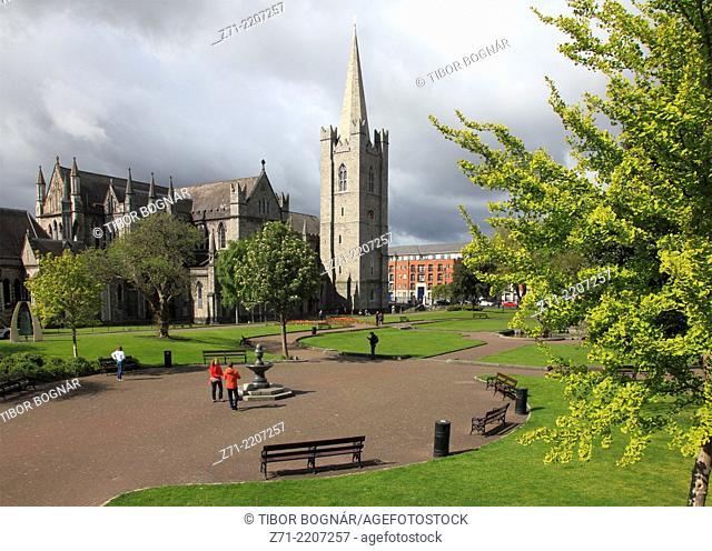 Ireland, Dublin, St Patrick's Cathedral,