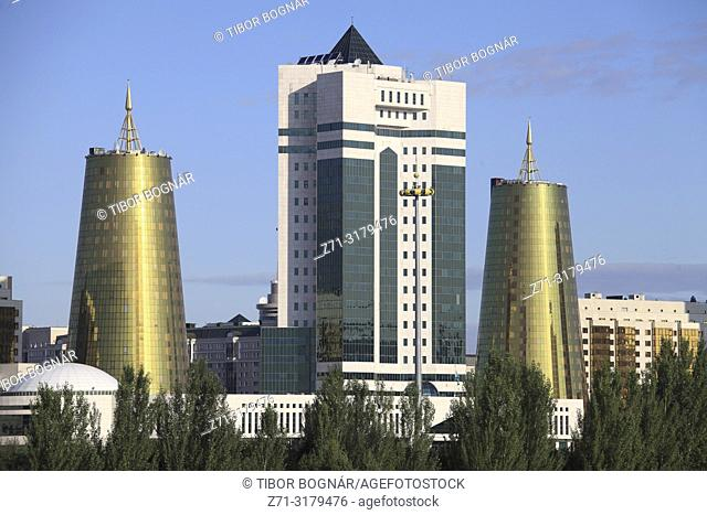 Kazakhstan; Astana, Ministries, government buildings,