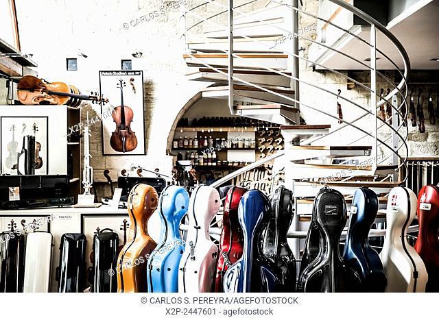 Shop in Viaduc of Arts in Paris, France