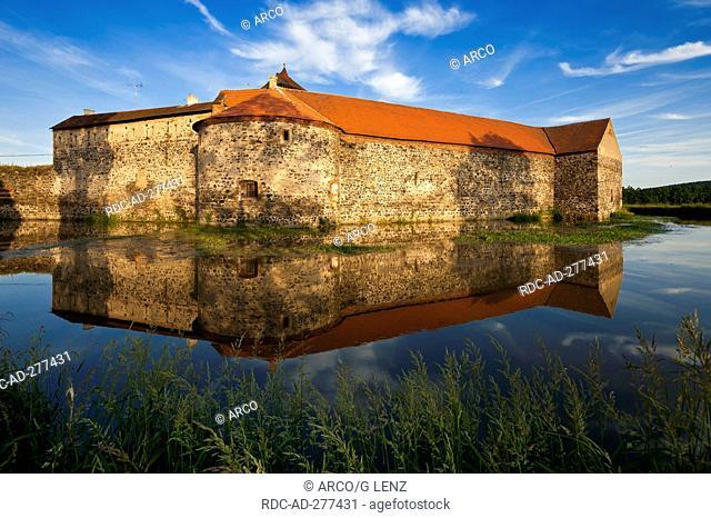Moated Castle Svihov, Svihov, Plzen Region, Klatovy District, Bohemia, Czechia / Pilsen area