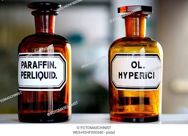 Germany, Medical flasks