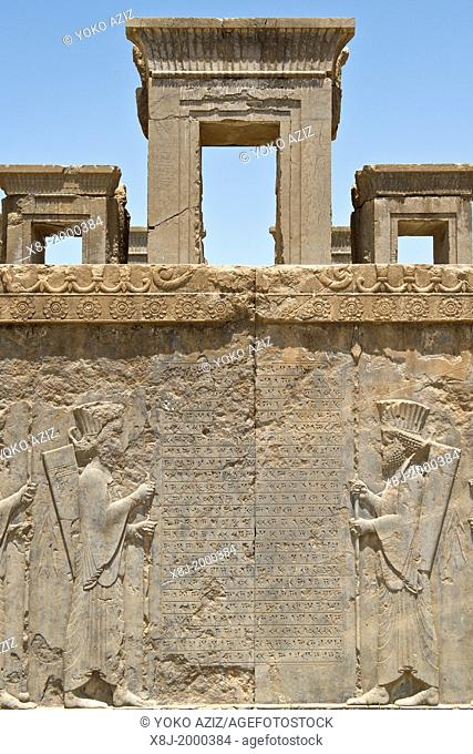 Asia, Iran, Persepolis, Archaeological site